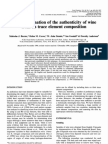Baxter1997-The Determination of the Authenticity of Wine - Copy