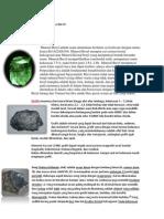 Contoh Mineral Hexa Dan Tri