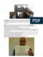 Referat Occupy Wall Street Movement