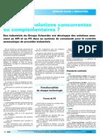 API Et PC - Solutions Concurrentes Ou Complmentaires