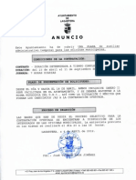 Plaza Auxiliar Administrativo Lagartera
