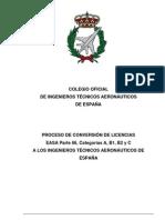 Conversion de Licencias Easa Parte 66