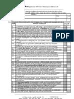 Checklist Trabalho Semal Tura
