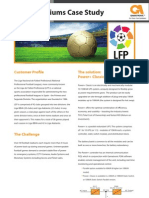 Football Stadiums Case Study