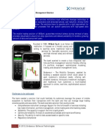 Mobile Trading and Portfolio Management Solution
