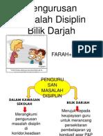 Pengurusan Masalah Disiplin Bilik Darjah