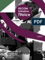 RECOM Initiative !Voice - 5/2012