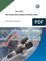 SSP 352 - Die Pumpe-Duse-Einheit Mit Piezo-Ventil