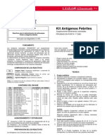 antigenos febriles