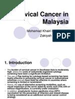 Cervical Cancer Malaysia