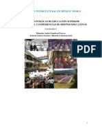 EDUCACIÓN INTERCULTURAL EN MÉXICO TOMO I