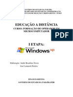 Apostila Windows XP Modulo 1
