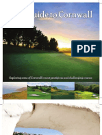 Golf Guide to Cornwall 2012 PR