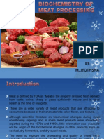Biochemistry of Meat Processing