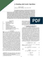 Chemical Laser Modeling With Genetic Algorithms