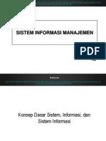 2-Konsep Dasar Sistem, Informasi, Dan SI