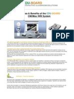Features Benefits CM2Max