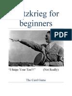 Blitzkrieg for Beginners