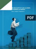 Le Systeme Educatif Et Les Classes Moyennes Au Maroc