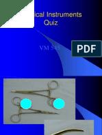 Surgical Instruments Quiz