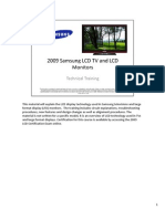 2009 Samsung LCD Products Training Manual