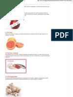10 Alimentos Que Ayudan a Quemar Grasas - Taringa!