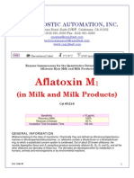 Aflatoxin M1-In Milk-Milk Products ELISA Kit