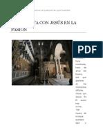 HORA SANTA CON JESÚS EN LA PASIÓN