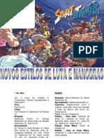Street Fighter RPG - Novos Estilos de Luta