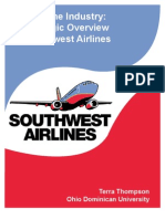 Airline+Industry Southwest+Final+Paper