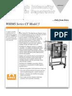 Eriez CF5MM Brochure