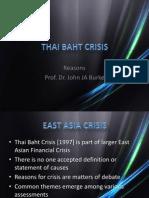 Thai Baht Crisis
