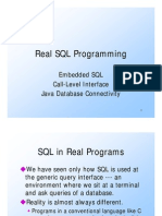 001.01 Ullman CS145 Embedded SQL CLI JDBC Fall 2004