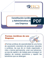 Constitución Jurídica de una Empresa
