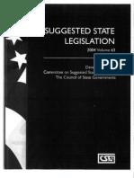 DSA Model Legislation