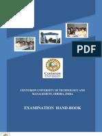 Cutm Examination Handbook