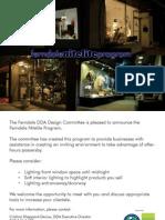 Ferndale DDA Design Committee - Nitelite Project 2005
