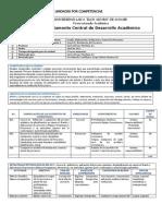 Programa Unidades Control y Evaluacion de Proyectos 2011