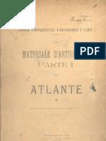 Atlante Del Materiale d'Artiglieria 1906