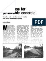 A New Use for Permeable Concrete