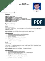 Resume-Kazi Sadique Zaman.doc