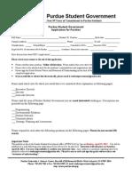 PSG Application 2012-2013