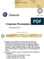 Genesis Summary Corp