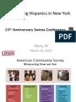 Somos - Measuring Hispanics in NY