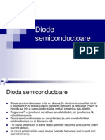 Diode Semiconductoare