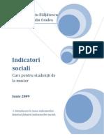 Curs Indicator i Social i 1