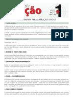 9 Passos para a Oração Eficaz (Impresso)