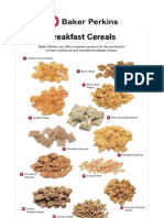 Product Sheet Breakfast Cereals Apr 2011