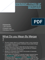 Different Types of Mergers
