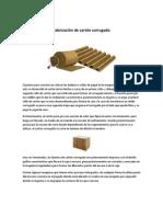 Fabricación de cartón corrugado y cajas plegadizas